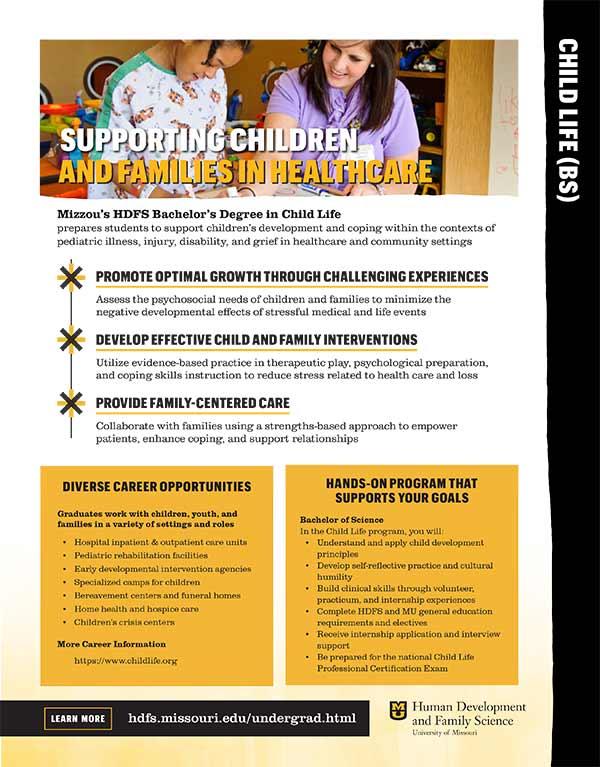 Child LIfe brochure PDF