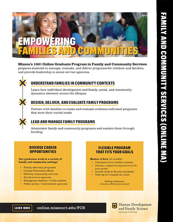 Family & Community Services Brochure